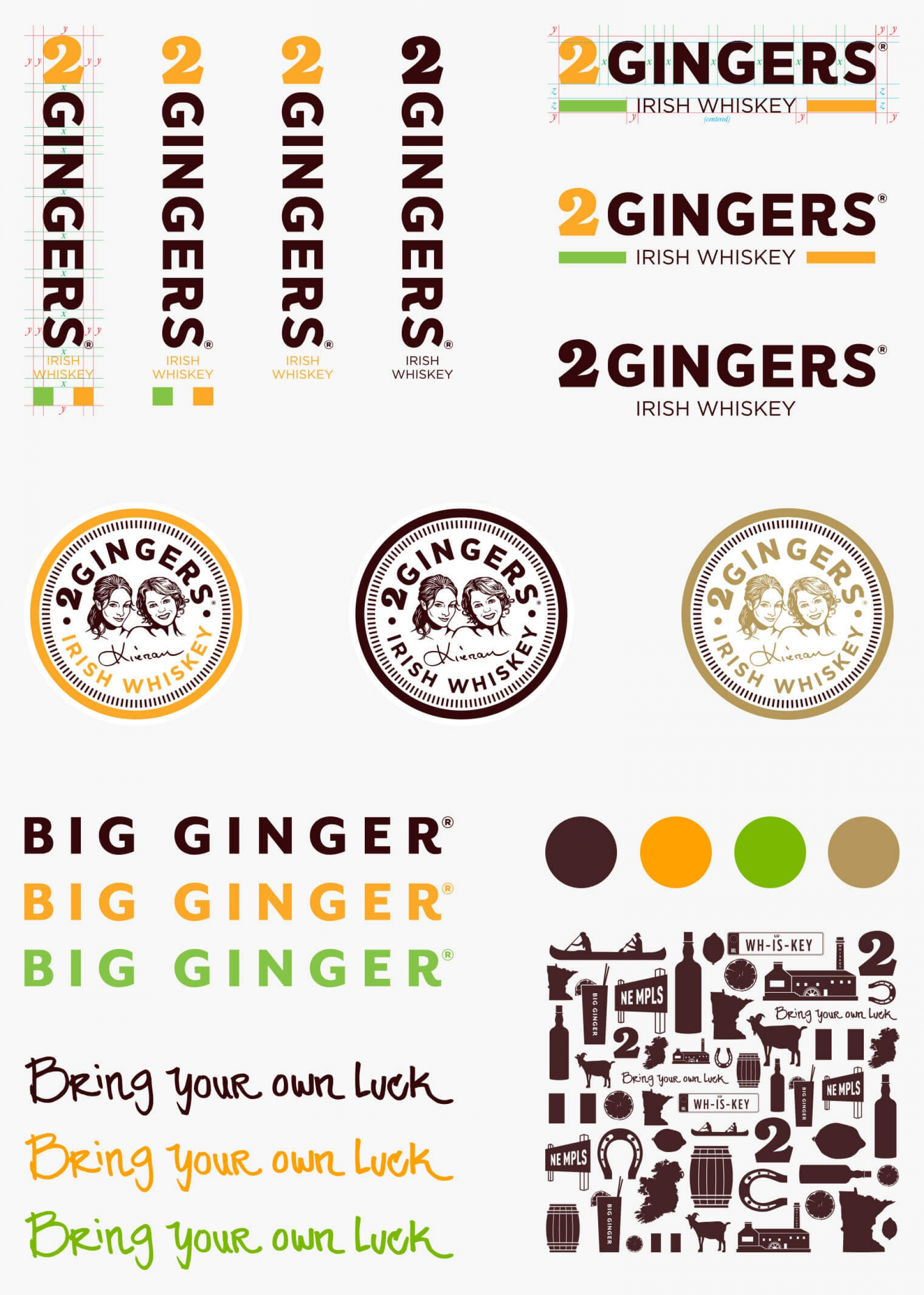 finished graphics of two gingers