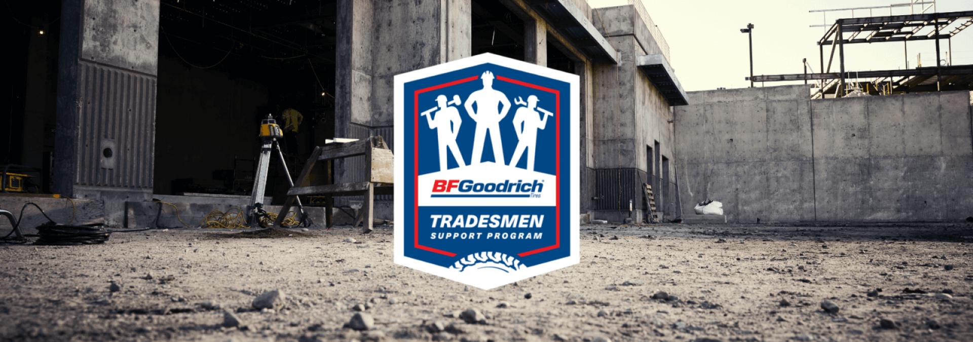 BFGoodrich Tradesmen support program