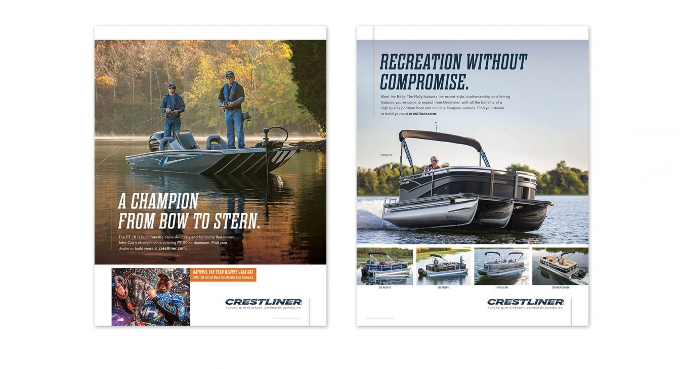 pontoon and bow stern graphics