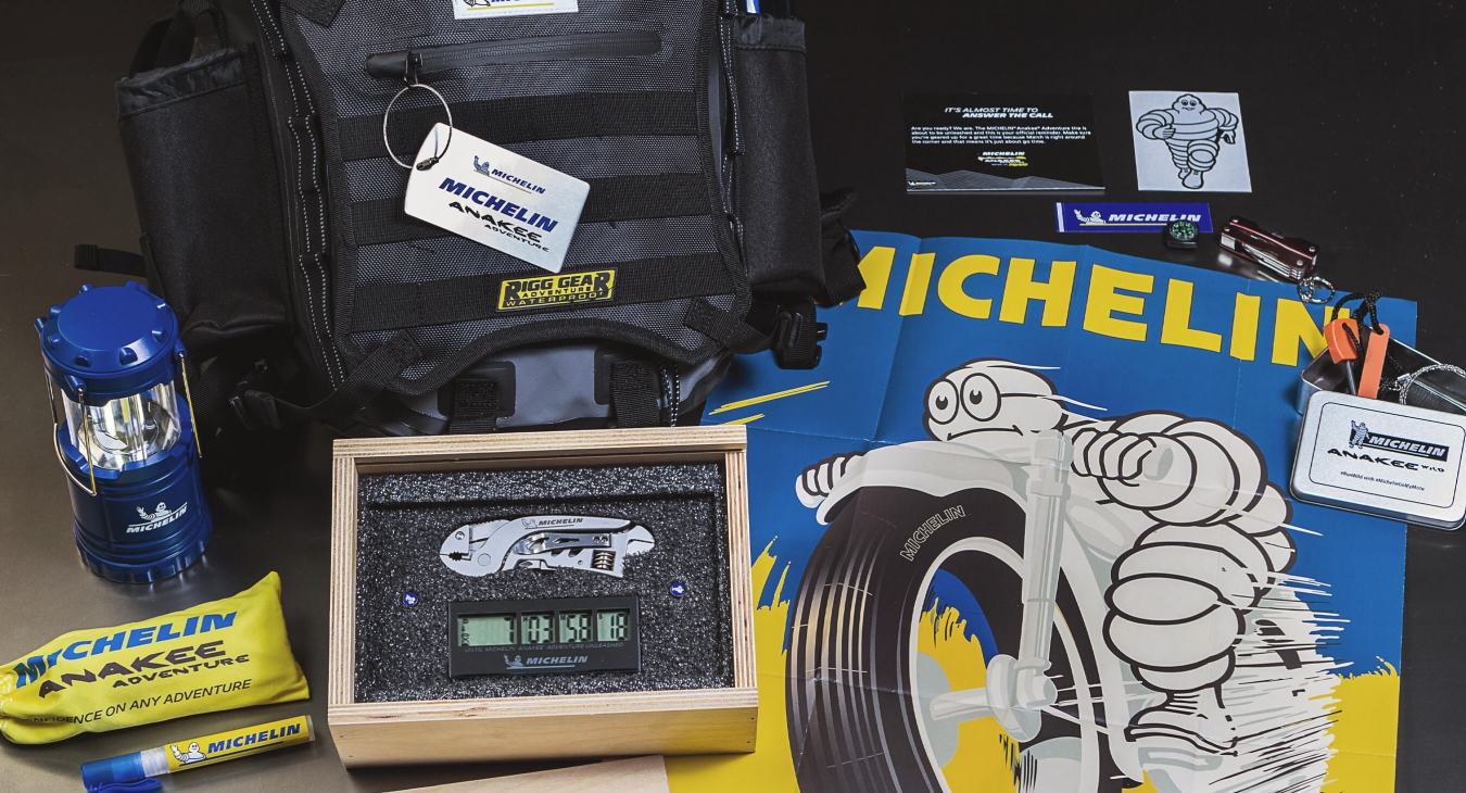 michelin branded items