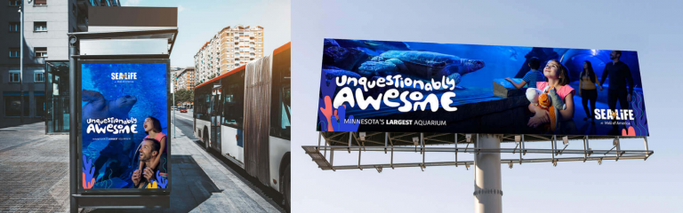 billboards and bus coverings graphics