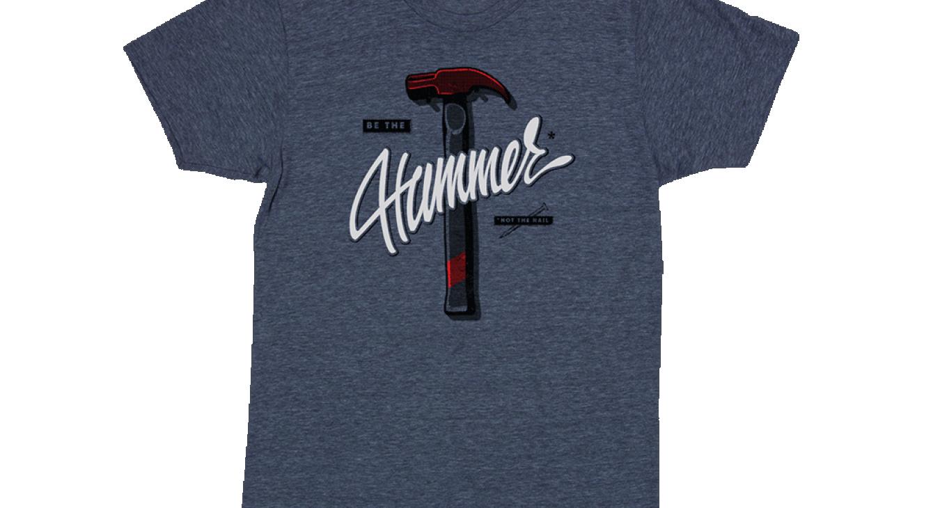 2016 hammer t-shirt